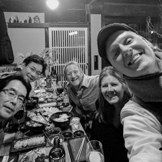 A table full of deliciousness & new Aussie mates! Thank you Brad (aka Rob) & Jules for a memorable week at Jam Jar Lounge