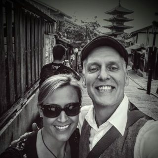 Temple tripping in Kyoto with Christina…..