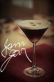 "Introducing the  ""Espresso Martini"" to our guests at Jam Jar Lounge & Inn ……"