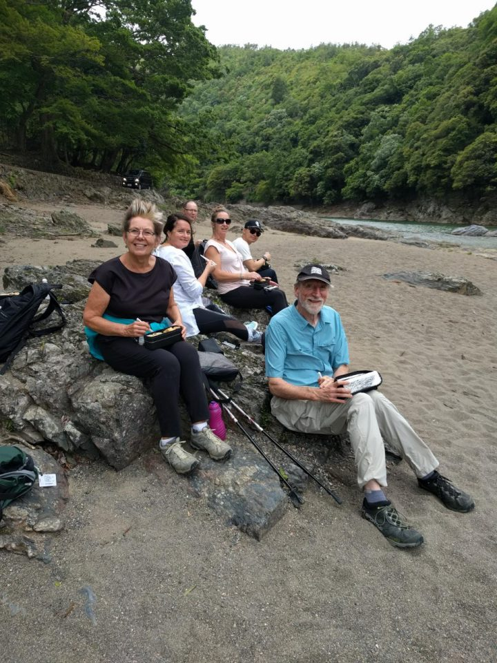 Picnic Lunch by the Katsura River